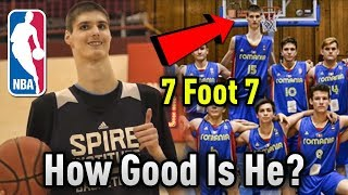 Download How GOOD Is 7'7″ Sophomore Robert Bobroczky ACTUALLY? Will He Make The NBA? Video