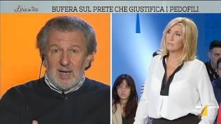 Download L'aria che tira - Bufera sul prete che giustifica i pedofili (Puntata 07/10/2015) Video
