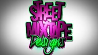Download PSD Photoshop CS6 Adobe Text Mixtape Cover Art Graphic Design Tutorials Video