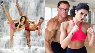 Download Jean Claude Van Damme Trained Daughter and Son in Martial Arts Video