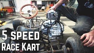 Download We're Building a 5 Speed Racing Kart! (16HP) Video