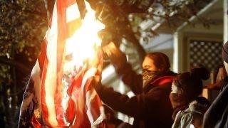 Download Campus flag-burning sets off First Amendment debate Video