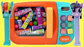 Download PEZ CANDY Dispensers, MLP MY LITTLE PONY, Trolls Poppy MAGICAL MICROWAVE / TUYC Video