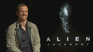 Download Michael Fassbender 'laughed a lot' at Alien: Covenant Video