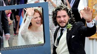 Download Which Game of Thrones Cast Members Made Kit Harington and Rose Leslie's Wedding Guest List? Video
