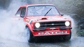 Download SERIOUS⚡WET✔️SPEED - Crazy☘️IRISH - Pure Asphalt/TARMAC RALLYING - Rear wheel Drive MK2 Ford Escort Video