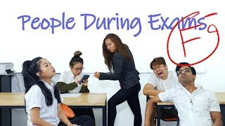 Download People During Exams Video