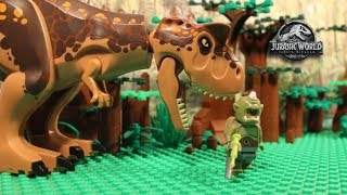 Download LEGO Cyclops - Jurassic World Fallen Kingdom - PART 1 - Stop Motion Video