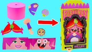 Download DIY Foam Kit Halloween Fortune Teller Easy No Glue Craft Set How To Video Video