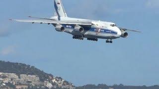 Download Hard day to land an Antonov 124 Video