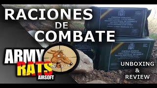 Download RACIONES DE COMBATE EJERCITO ESPAÑOL -PROBANDO COMIDA DEL EJERCITO MRE Video