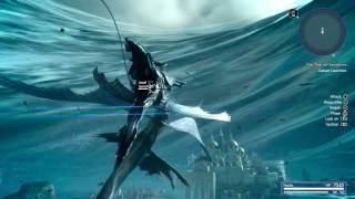 Download FINAL FANTASY XV - Leviathan Summon Boss Fight l Full Game PS4 Pro Video