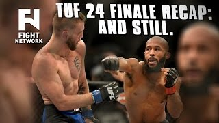 Download TUF 24 Finale Recap: Demetrious Johnson Shows Why He's The Best Flyweight in the World Video
