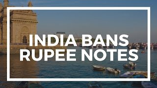 Download India BANS rupee notes in the latest War on Cash Video