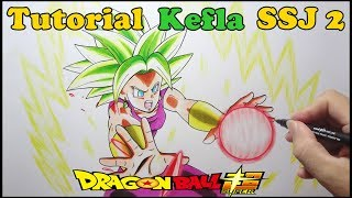 Download Como Desenhar Kefla Super Sayajin Dragon Ball Super - How to Draw Kefla Video