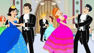 Download Двенадцать танцующих принцесс сказка для детей, анимация и мультик Video