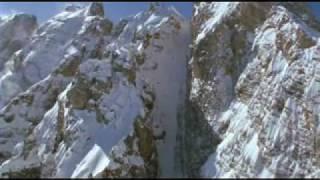 Download SNOWBOARD FREERIDE 1000m vertical drop couloir ! Video