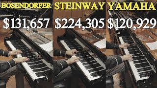 Download Can You Hear The Difference Between a Steinway, Yamaha and Bosendorfer? Video