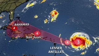 Download Forecasters track Hurricane Irma's path toward US Video