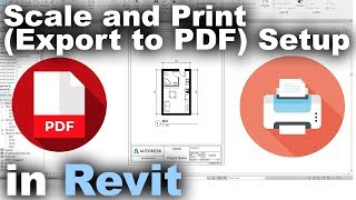 Download Scale and Print (Export to PDF) Setup in Revit Tutorial Video