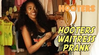 Download Hooters Waitress Prank! Video
