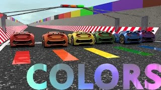 Download Little Car Designer Colors Rainbow Racing Video