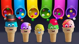 Download Ice Cream Finger Family Song | Daddy Finger Rhyme Video