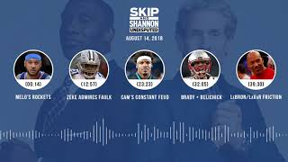 Download UNDISPUTED Audio Podcast (8.14.18) with Skip Bayless, Shannon Sharpe & Jenny Taft | UNDISPUTED Video