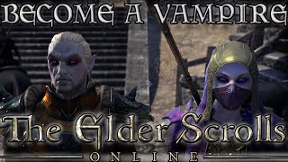 Download HOW to become a VAMPIRE in ESO! (Elder Scrolls Online Quick Tips for PC, PS4, and XB1) Video