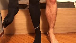 Download Black soccer/football nike socks challange Video