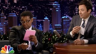 Download Denzel Washington Dramatically Reads Greeting Cards Video