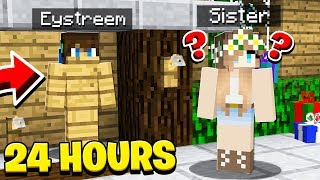 Download I TROLLED MY LITTLE SISTER FOR 24 HOURS And She Had NO IDEA! Video