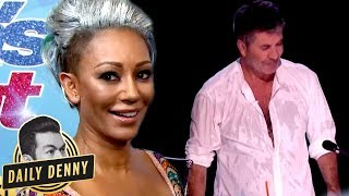 Download America's Got Talent's Simon Cowell VS Mel B: What You Didn't See On The Live Show | Daily Denny Video