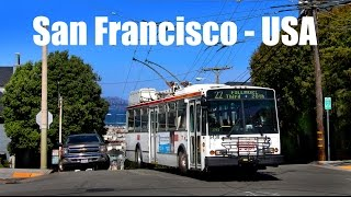 Download SAN FRANCISCO TROLLEYBUS - Škoda 14TrSF (2016) Video