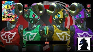 Download NS ARMS - Hedlock Scramble - Springtron Rumble! Video