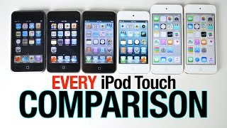 Download iPod Touch 6G vs 5G vs 4G vs 3G vs 2G vs 1G Speed Test Comparison Video