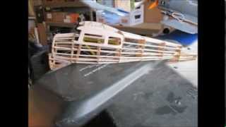 Download Guillows Cessna 170 Rubber Powered Airplane Build SlideShow Video