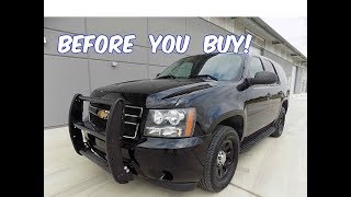 Download Watch This BEFORE You Buy a Chevy Tahoe Police Pursuit Vehicle! (PPV) Video