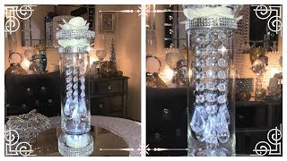 Download DIY - BEAUTIFUL BLING TOWER OF CRYSTALS ( PART 1) DOLLAR TREE NEW Video