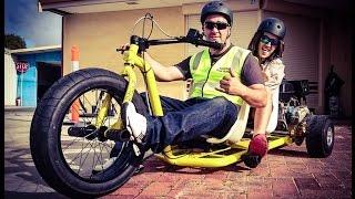 Download Motorized Drift Trikes | Crazy Tandem & Single Sliders Video