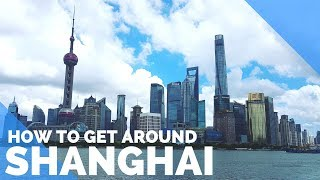 Download SHANGHAI, CHINA - HOW TO GET AROUND SHANGHAI - MAGLEV, SUBWAY & MORE - FIRST WORLD TRAVELLER Video
