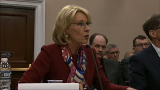 Download DeVos Faces Tense Exchange over Education Budget Video
