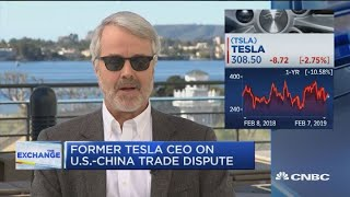 Download Fmr. Tesla CEO on electric vehicle growth Video