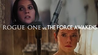 Download Rogue One vs. The Force Awakens — The Fault in Our Star Wars Video