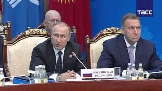 Download Путин ответил на нападки главы украинской делегации на заседании Совета глав государств СНГ Video