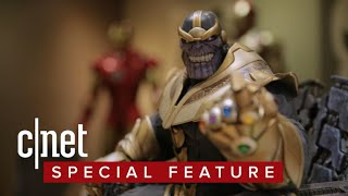 Download How Sideshow created its epic Thanos on Throne Video