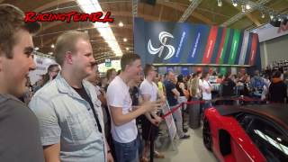 Download J.P Kraemer Tuning World 2016 fast 2 mal sein Lamborghini mit Felgenreiniger getroffeen Video