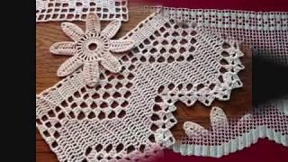 Download Dantel, Kenar Danteli, Çarşaf Kenarı, Pike örnekleri & Crochet Video