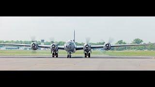 Download P-51, B-24, B-17, B-29 takeoff Washington DC Flyover, May 8, 2015, landing Video