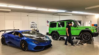 Download STRAIGHT PIPING ALIEN GREEN MERCEDES AMG G63 *CRAZY LOUD* Video